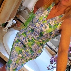 Talbot's NWT stretchy midi floral dress